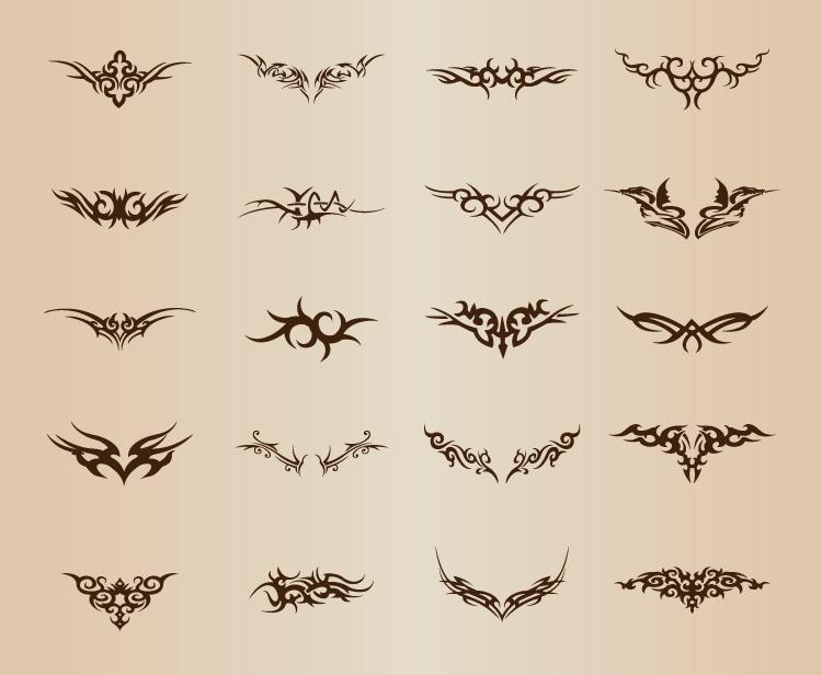 狮子公社设计素材-纹身图案30设计图片
