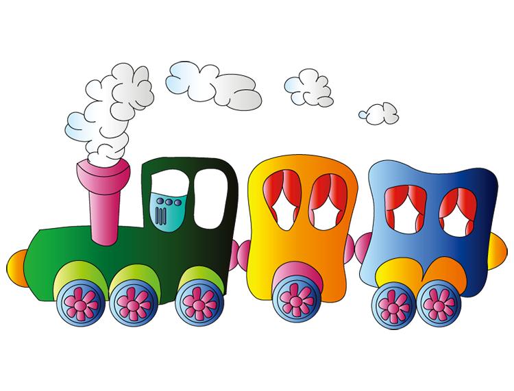 卡通火车,小火车