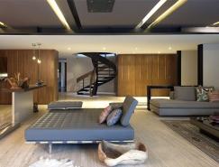 墨西哥大气奢华的现代别墅设计