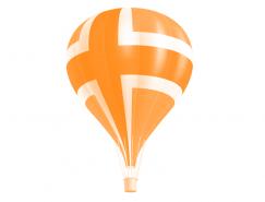 热气球PSD素材