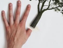 WWF廣告欣賞 熱帶雨林怒了:再砍剁手!