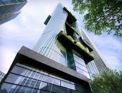 悉尼UOA Morph螺旋状连体大厦