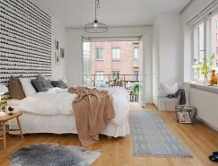 斯德哥尔摩白色简约风格公寓设计