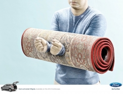 福特翼虎廣告欣賞:被禁錮的雙手