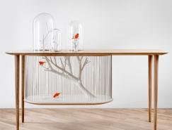 Gregoire de Lafforest:创意鸟笼桌