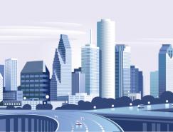 现代城市建筑矢量素材(1)