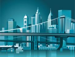 现代城市建筑矢量素材(2)