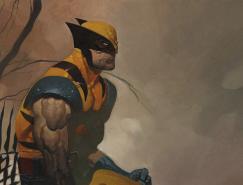 Chris Stevens超级英雄人物插画欣赏