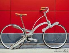 Sada Bike:折疊成雨傘大小的便攜自行車