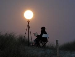 法國攝影師Laurent Laveder:與月亮遊戲