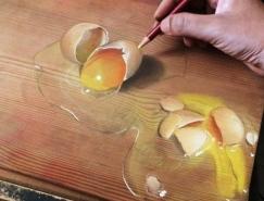 新加坡Ivan Hoo逼真的3D绘画作品