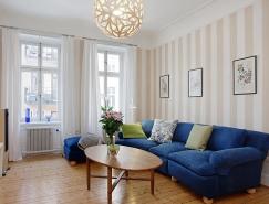 北歐風清新復式公寓設計