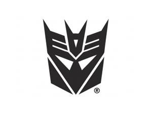 变形金刚狂派霸天虎logo标志矢量图