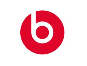 Beats耳機logo標誌矢量圖