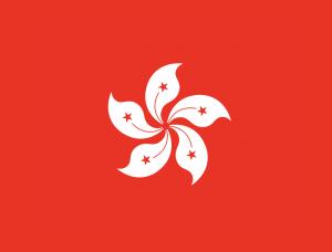 香港区旗矢量图