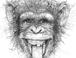 Vince Low动物铅笔画欣赏