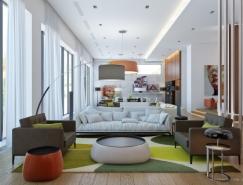 20个国外漂亮的客厅设计欣赏