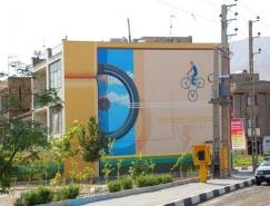 伊朗艺术家Mehdi Ghadyanloo 3D街头壁画艺术