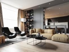 明快舒适的现代简约风格公寓设计