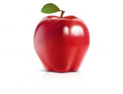 精美的红苹果矢量素材