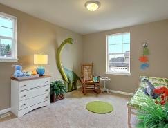 恐龙主题儿童房设计欣赏