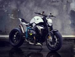 充滿未來感的寶馬Concept Roadster概念摩托車