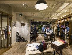 日本Ciaopanic潮流服装店铺设计