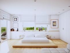 20个国外现代卧室装修设计欣赏