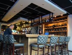 以色列複古風格的海鮮餐廳設計