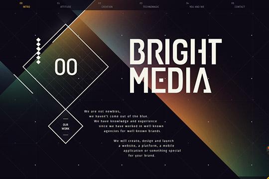 60个国外创意单页面网站设计欣赏