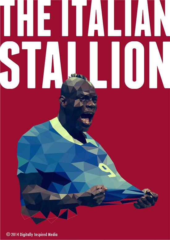 世界杯顶级球星海报设计欣赏