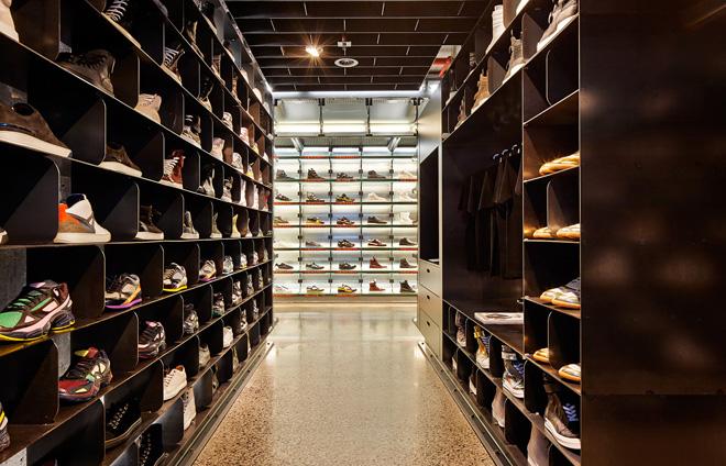墨尔本Sneakerboy时尚潮流鞋店设计