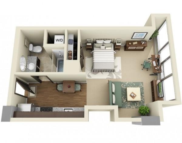 3d 5 for Alquiler de habitaciones para 3 personas