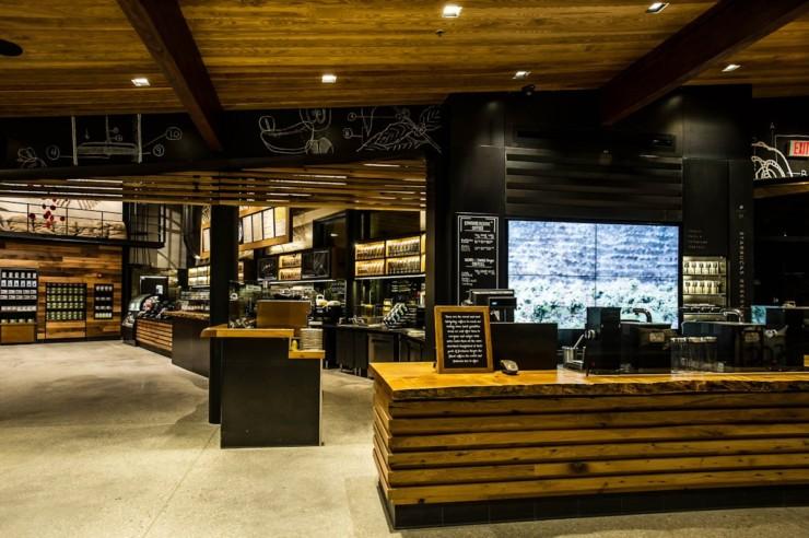 星巴克旗舰店设计 餐饮空间 2014-06-07 立陶宛kukumuku餐厅空间设计