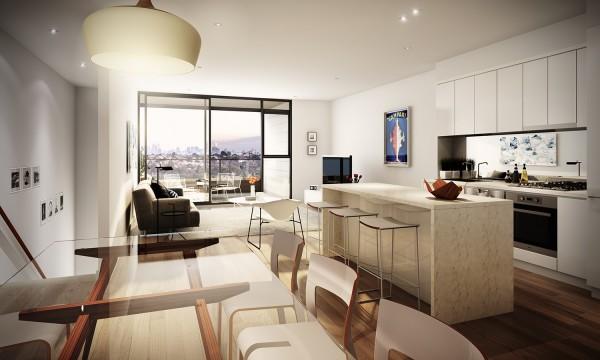 国外现代简约风格公寓室内设计(2)