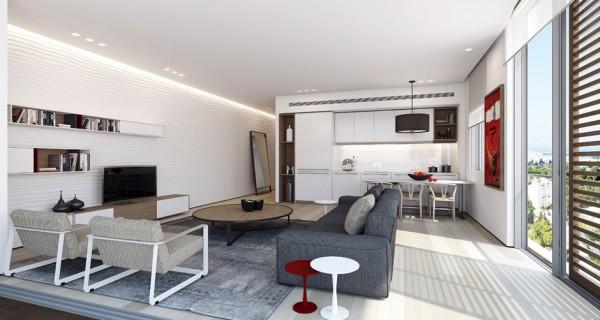 国外现代简约公寓风格室内设计(3)论园林景观v公寓的先进性图片