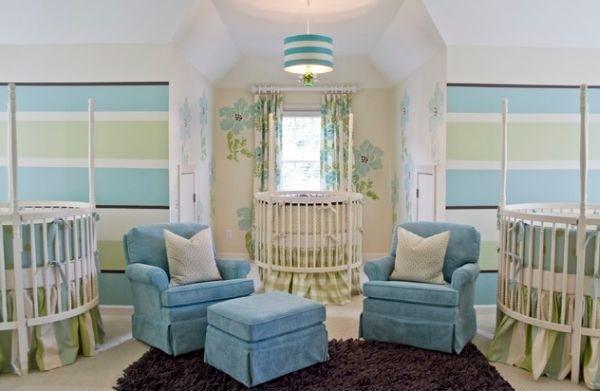 26个圆形婴儿床设计