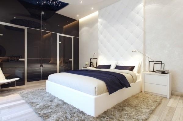 现代简约风格卧室装修设计欣赏
