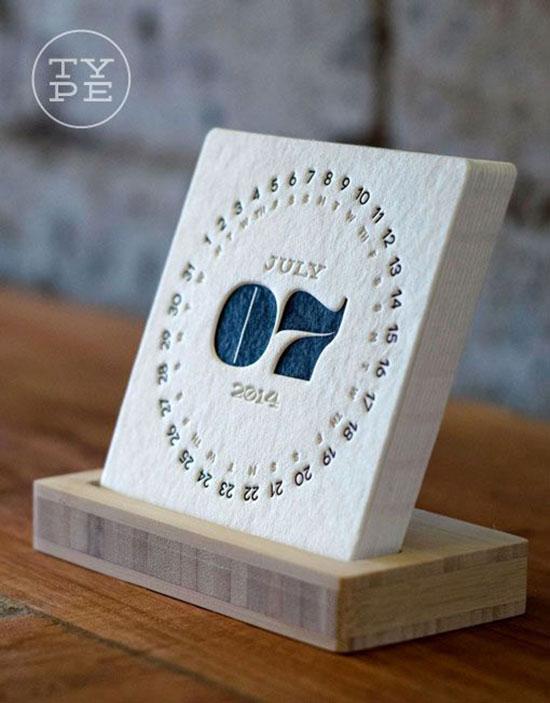 48个创意日历设计欣赏 6 设计之家