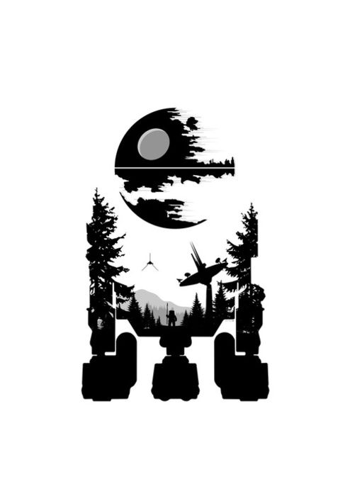 60个星球大战主题插画欣赏(8)
