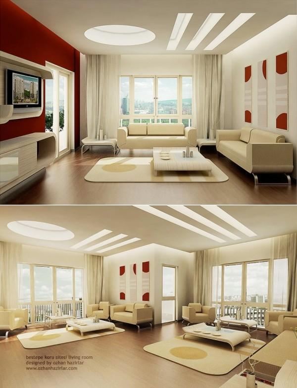 国外优雅大气的客厅效果图欣赏(3) - 设计之家