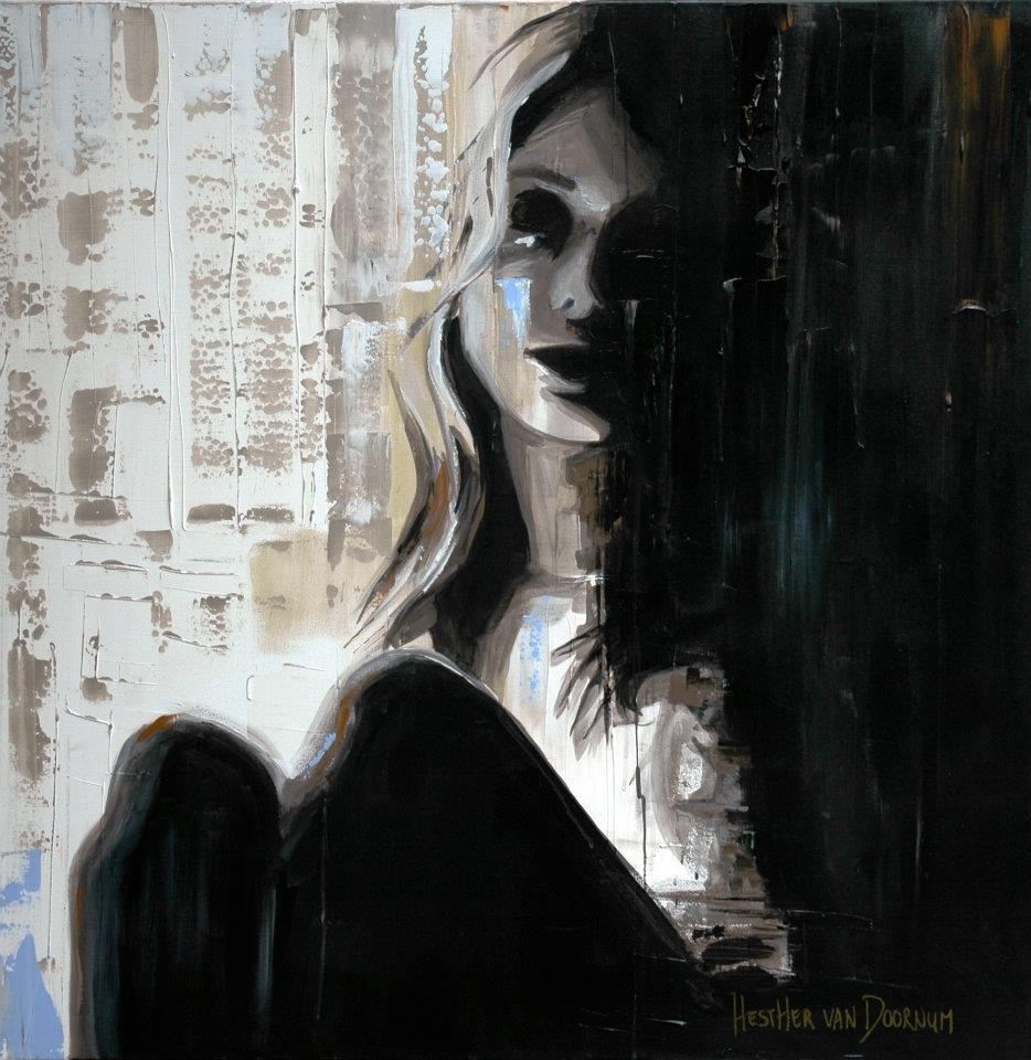 Hesther van Doornum肖像绘画作品