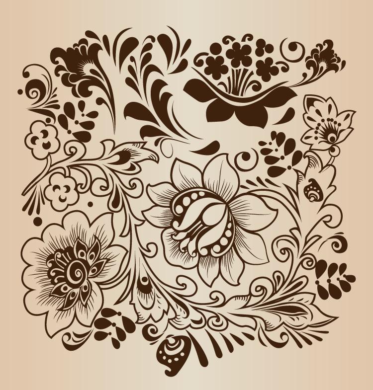 Ȋ�卉装饰图案 Ȋ�卉装饰图案图片 Ʒ�宝助理