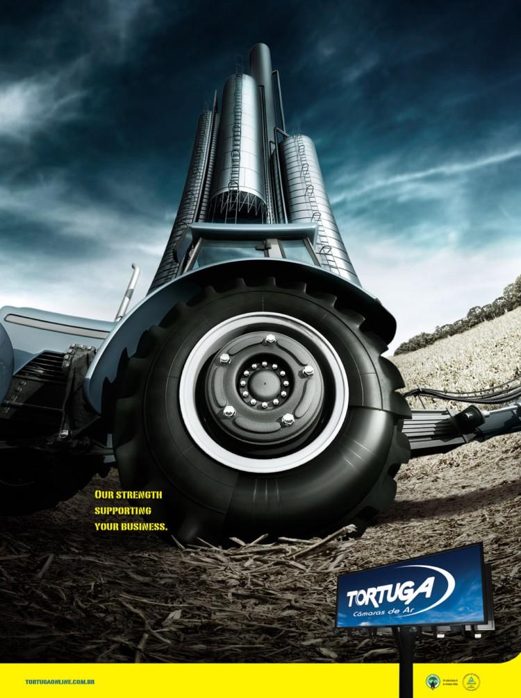 国外创意广告欣赏,你该——看