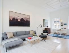 纽约Tribeca Loft公寓设计