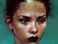 Isabella Morawetz人物肖像插画欣赏