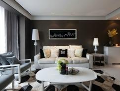 精致简约的典雅公寓设计欣赏