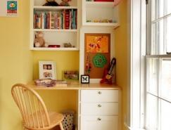卧室一角的小型书房设计