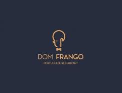 葡萄牙Dom Frango餐馆视觉形象设