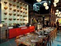 阿拉伯建筑元素的以色列雅法海鲜餐馆设计